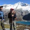 View of the Taullicocha lake and the Rinri Jirka mountain