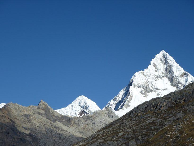 Quitaruju mountain 6045m