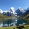 Beautiful view of the Cordillera Huayhuash