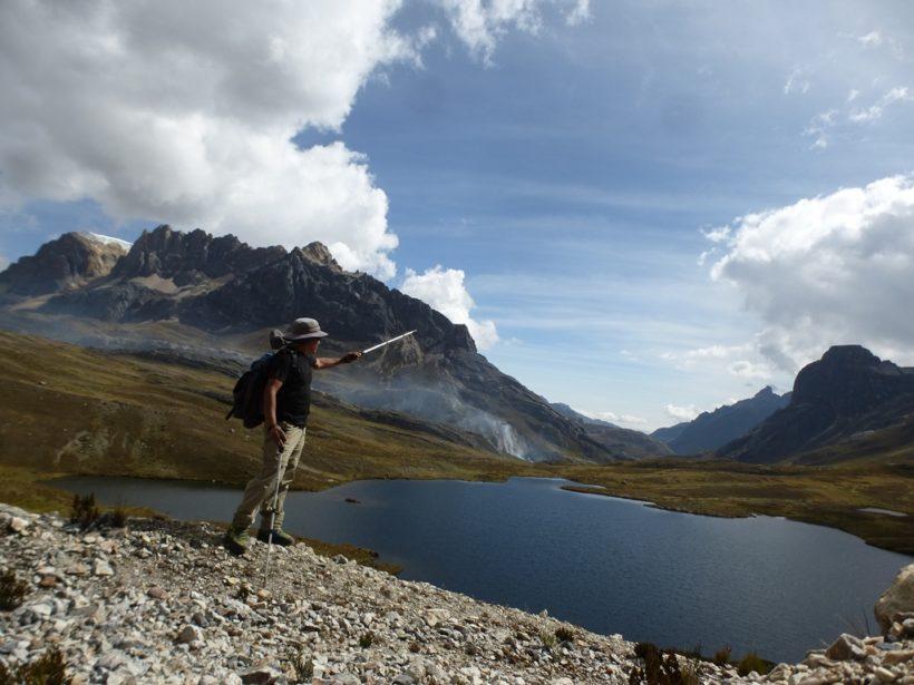 Callhuacocha Lake