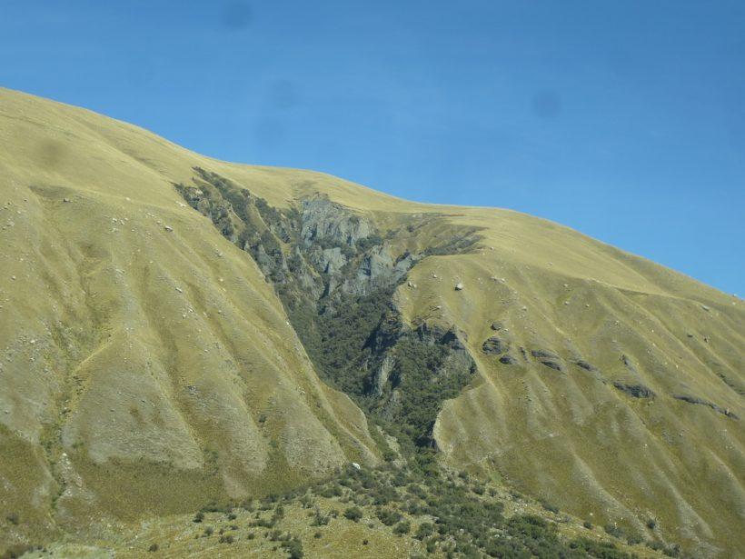 Falla Geológica Mapa del Perú
