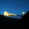 Sunrise in the Cordillera Blanca