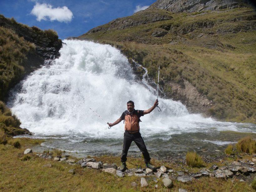 Vicocnga Valley Waterfall