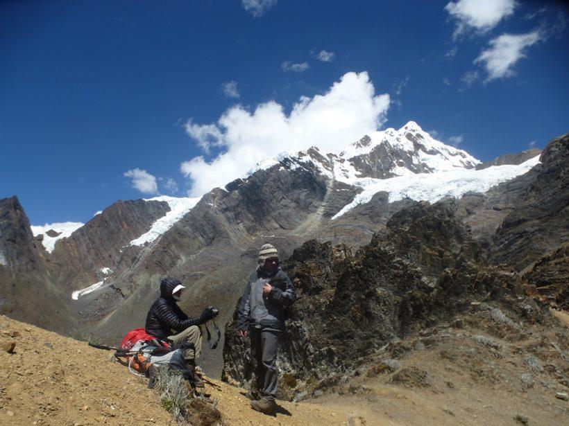 View of Pukahirca from Yanacon pass
