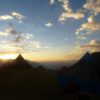 Sunset at Calamina Camp