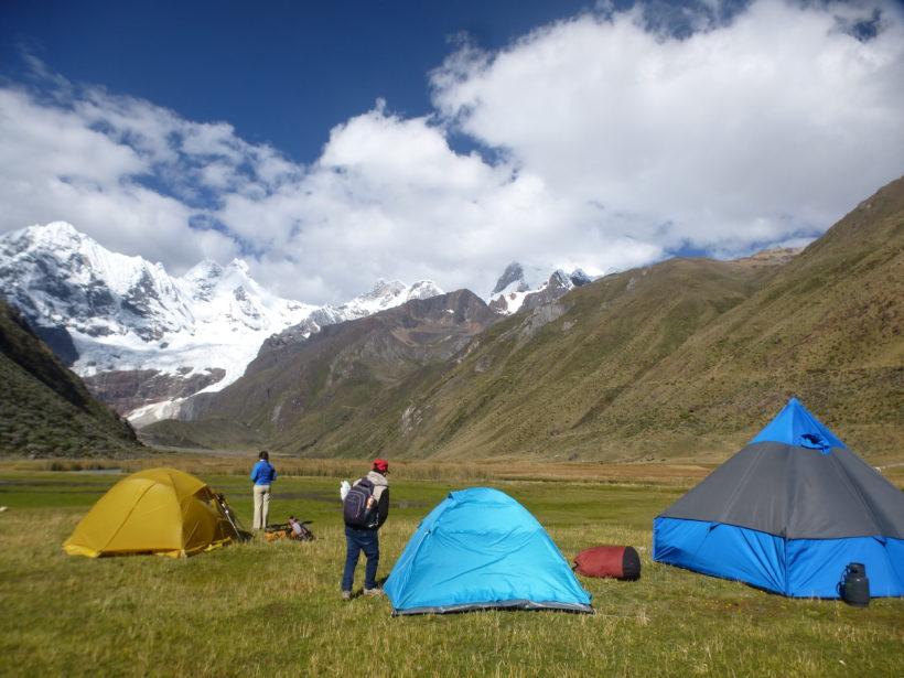 Jahuacocha camp