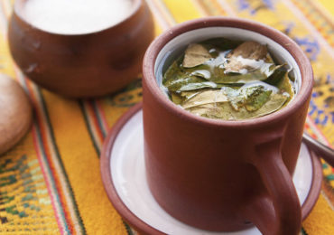 Coca tea - for altitude-sickness